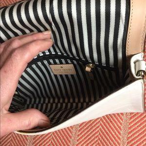 kate spade Bags - Kate Spade white leather crossbody